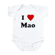 I Love Mao Onesie