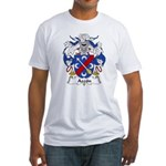 Azcon Family Crest Fitted T-Shirt