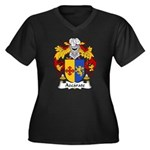 Azcarate Family Crest Women's Plus Size V-Neck Dar