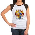 Azcarate Family Crest Women's Cap Sleeve T-Shirt