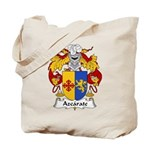 Azcarate Family Crest Tote Bag