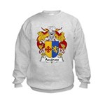 Azcarate Family Crest Kids Sweatshirt