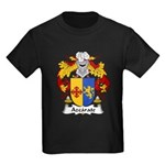 Azcarate Family Crest Kids Dark T-Shirt