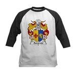 Azcarate Family Crest Kids Baseball Jersey