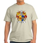 Azcarate Family Crest Light T-Shirt