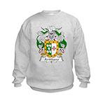Artinano Family Crest Kids Sweatshirt