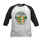 Artinano Family Crest Kids Baseball Jersey