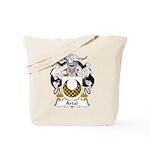 Artal Family Crest Tote Bag