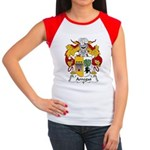 Arregui Family Crest Women's Cap Sleeve T-Shirt