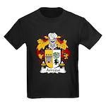Arregui Family Crest Kids Dark T-Shirt