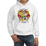 Arregui Family Crest Hooded Sweatshirt