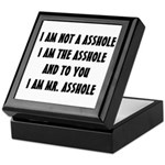 MR. ASSHOLE Keepsake Box