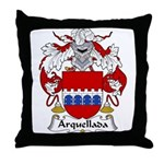 Arquellada Family Crest Throw Pillow