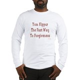 Yom Kippur Forgiveness Long Sleeve T-Shirt