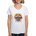 Arizmendi Family Crest  Women's V-Neck T-Shirt