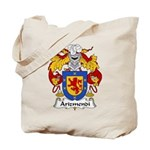 Arizmendi Family Crest  Tote Bag