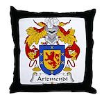 Arizmendi Family Crest  Throw Pillow