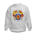 Arizmendi Family Crest  Kids Sweatshirt