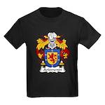 Arizmendi Family Crest  Kids Dark T-Shirt