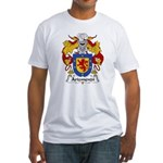 Arizmendi Family Crest  Fitted T-Shirt