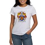 Arizmendi Family Crest Women's T-Shirt