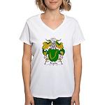 Arana Family Crest Women's V-Neck T-Shirt