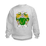 Arana Family Crest Kids Sweatshirt
