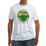 Arana Family Crest Fitted T-Shirt