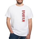 Bahrain White T-Shirt