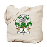 Antunez Family Crest Tote Bag