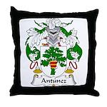 Antunez Family Crest Throw Pillow