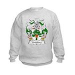 Antunez Family Crest Kids Sweatshirt