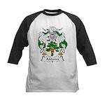 Antunez Family Crest Kids Baseball Jersey
