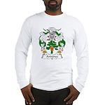 Antunez Family Crest Long Sleeve T-Shirt