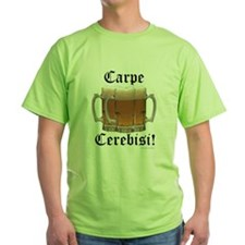 Seize the Beer! Green T-Shirt