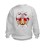 Anguita Family Crest Kids Sweatshirt