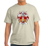 Anguita Family Crest Light T-Shirt
