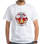 Anguita Family Crest White T-Shirt