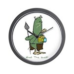 WTD: 3 of 4 Character Series Wall Clock