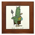 WTD: 3 of 4 Character Series Framed Tile