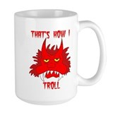 Red Troll Coffee Mug