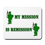 My mission Mousepad