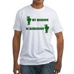 My mission Fitted T-Shirt