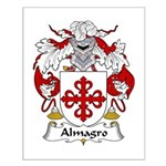 Almagro Family Crest Small Poster