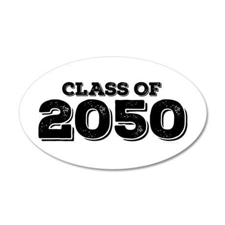 Class of 2050 Wall Decal
