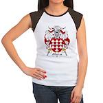 Alberas Family Crest Women's Cap Sleeve T-Shirt
