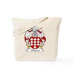 Alberas Family Crest Tote Bag