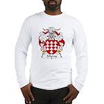Alberas Family Crest Long Sleeve T-Shirt