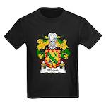 Albeniz Family Crest Kids Dark T-Shirt