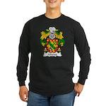 Albeniz Family Crest Long Sleeve Dark T-Shirt